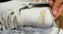 New Jackson Cameo CS152 White Leather Ice Skating Shoe Figure Skates Senior 4