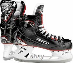 New Other Bauer Vapor X500 1050568 6.5 D Senior Black/Red Ice Hockey Skate