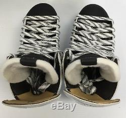New Reebok 20k White Senior Ice Hockey Players Skates size 6.5 D skate sr mens