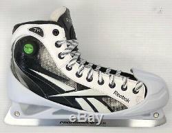 New Reebok 7k Hockey Goalie Skates Senior 10.5D black ice goal skate men pump
