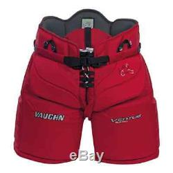 New Vaughn Ventus SLR Pro Sr goalie pants senior XL 42 red ice hockey goal pant