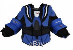 New Vaughn XR Pro Carbon chest/arm protector Sr Medium senior ice hockey goalie