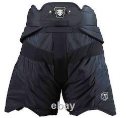 New Warrior Messiah ice hockey goalie pants senior sr small S black goal