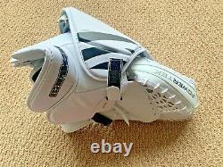 Powertek Barikad Senior Ice Hockey Goalie Set blocker glove White Black SR