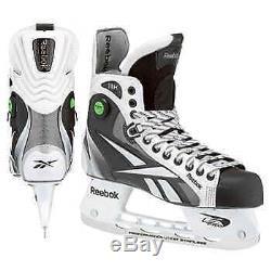 Reebok 11K Senior Ice Skates White and black Rare! Brand new