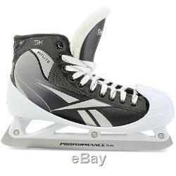 Reebok 5K Goal ice hockey goalie skates senior size 8D Sr. Sz. Brand New In Box