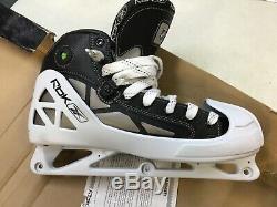 Reebok 5k Pump Goalie Ice Hockey Skates Adult/senior Size 9.5 D New Nos
