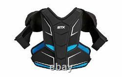 STX Ice Hockey Surgeon RX3.1 Senior Shoulder Pad Large White/Blue