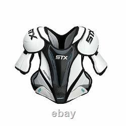 STX Surgeon 500 Senior Ice Hockey Shoulder Pad X-Large Black/Yellow
