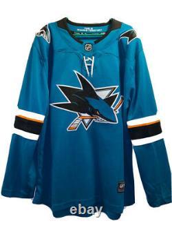 San Jose Sharks Jersey XL Senior Fanatics Breakaway Home NHL Ice Hockey