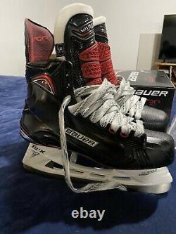 Senior New In Box Bauer Vapor 1X 9.5D Ice Hockey Skates LS4 Steel Nice