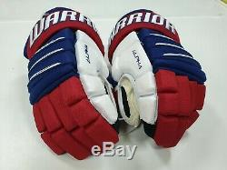 Senior ice hockey gloves WARRIOR ALPHA QX PRO SR. Size 14. NWT