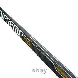2 Pack Bauer Suprême 170 Bâtons De Hockey Sur Glace Senior Flex