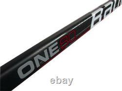 2 Pack Bauer Supreme One 80 Bâtons De Hockey Sur Glace Intermédiaire Flex