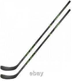 2 Pack CCM Ribcor Reckoner Pro Stock Hockey Sur Glace Sticks Senior Flex