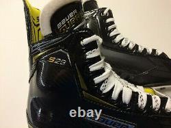 2020 Bauer Supreme S29 Patins De Hockey Sur Glace Taille Senior 9,5 D Largeur Moyenne