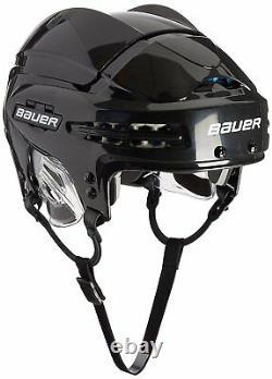 Bauer 5100 Casque De Hockey Sur Glace Pro Senior Noir Avec Coquille Bio-mécanique