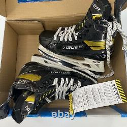 Bauer New Supreme Ultrasonic Senior Ice Hockey Skates Taille 8.5 Fit 2 Jamais Porté