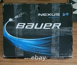 Bauer Nexus 2n Patins Senior De Hockey Sur Glace Taille 8d (é.-u. 9.5) Lire Boîte Dérangée