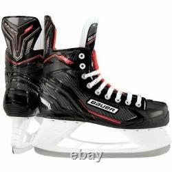 Bauer Nsx Patins De Hockey Sur Glace Junior / Senior En Option Sac Rose, Garde Et Outil