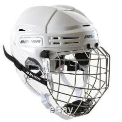 Bauer Re-akt 75 Combo Casque De Hockey Sur Glace Taille Principale