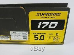 Bauer Supreme 170 Patins À Glace Taille Principale 5.0 Largeur D Livraison Gratuite