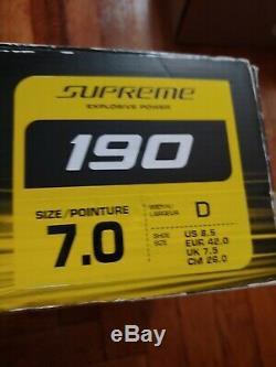 Bauer Supreme 190 Ice Skates Principale 7.0 Largeur D Pointure 8,5