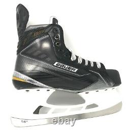 Bauer Supreme 190 Sr Senior Ice Hockey Skates 10.0 Ee (royaume-uni 10.5 Eu 45.5 Us 11.5)