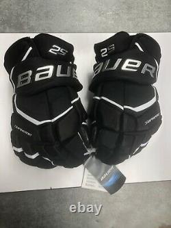 Bauer Supreme 2s Hockey Sur Glace Gants Taille Principale Noir 14 (0709)