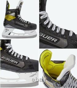 Bauer Supreme 3s Hockey Sur Glace Patins Principal Taille 8.0