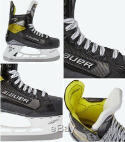 Bauer Supreme 3s Principal De Hockey Sur Glace Patins 8,0 Fit 2