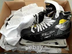 Bauer Supreme 3s Pro Hockey Sur Glace Gardien Patins Senior Taille 8d