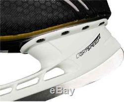 Bauer Supreme One. 8 Hockey Sur Patins À Glace Taille Haute Noir 9.5 Ee Les Nouveaux Hommes Patinent Sr