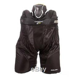 Bauer Suprême Pantalons De Hockey Sur Glace Senior Moyenne Noir Neuf