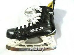 Bauer Supreme S180 Hockey Sur Glace Patins Principale 6.5d Avec Brand New Ls Blades Pulse