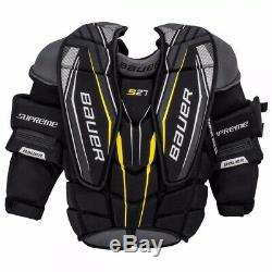 Bauer Supreme S27 Principal De Hockey Sur Glace Gardien De But Poitrine Et Bras Protecteur Grande Taille
