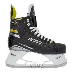 Bauer Supreme S35 Patins De Hockey Sur Glace Contrôle De Puissance Black Yellow Senior Sr Sz 7 D