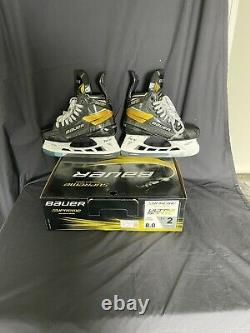 Bauer Supreme Ultrasonic Senior Ice Hockey Patins Taille 8 Fit 2