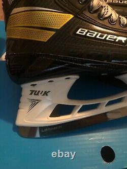 Bauer Supreme Ultrasons Pro Stock Patins De Hockey Sur Glace Senior 10,0 Fit 3