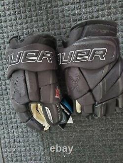 Bauer Vapor 1x Lite Gants Pro Hockey Sur Glace Noir 13 Haut