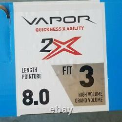 Bauer Vapor 2x Patins De Hockey Sur Glace Taille Senior 8 Fit 3