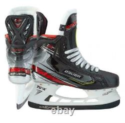 Bauer Vapor 2x Pro Senior Ice Hockey Skates. Tailles 8.0, 8.5 Fit 3 9.0 Fit 1