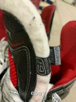 Bauer Vapor X-select Senior Mens Ice Skates Taille 6.5 D Us Shoe Size 8