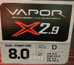 Bauer Vapor X2.9 Senior Adult Ice Hockey Patins Taille 8d Nouveau! Avec Box