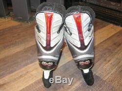 Bauer Vapor X30 Nouveau Troisième Âge Taille 6 D Hockey Sur Glace Patins Aucun Tag