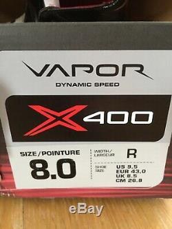 Bauer Vapor X400 Principal Hockey Sur Glace Patins Lightspeed pro Largeur Large Uk 8.5