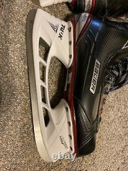 Bauer Vapor X500 Patins À Glace De Hockey 10.5d 10.5 10 Pratiquement Nouveau Senior Adulte