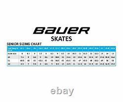 Bauer Vapor X500 S17 Patins De Hockey Sur Glace Taille Senior, Patins À Glace De Niveau Intermédiaire