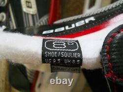 Bauer Vapor X500 Senior Taille 8d (u. S Chaussures 9.5) Patins De Hockey Sur Glace, Nwb