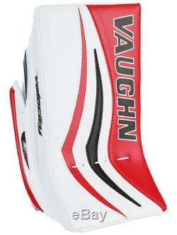 Bloqueur De Gardien / Gardien De But Vaughn Xr Pro Sr De Hockey Sur Glace Senior Noir / Rouge Velocity V7